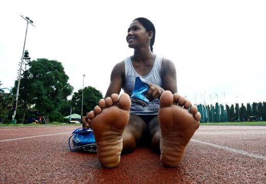 Adidas valmistab 12 varbaga India seitsmevõistlejale spetsiaalsed naelikud