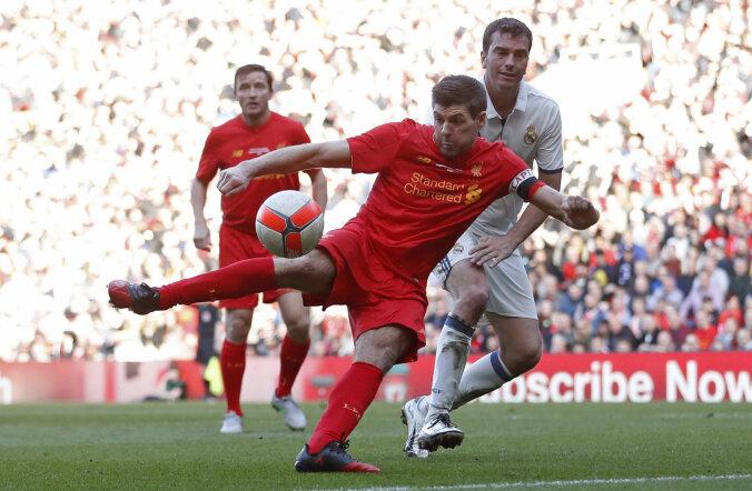 Steven Gerrard naaseb sõprusmänguks Liverpooli koosseisu