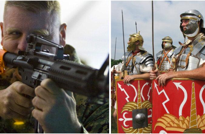 Vana-Rooma leegionärid või 21. sajandi USA merejalaväelased: kumb jääks konfliktis peale?