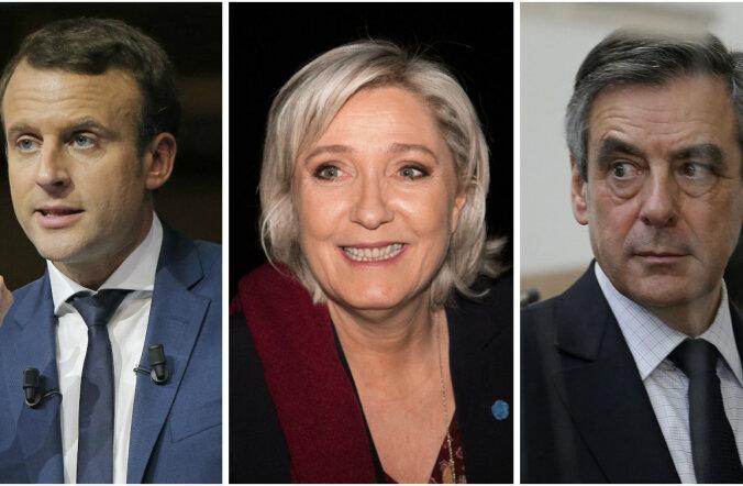 Küsitlus: Le Pen kaotaks Prantsusmaa presidendivalimiste teises voorus kindlalt nii Macronile kui ka Fillonile