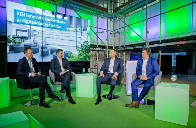 SEB rajab ettevõtetele innovatsioonikeskuse