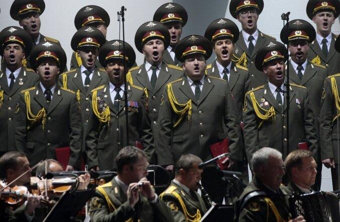 Министр обороны отказался пускать Ансамбль Российской армии в Эстонию