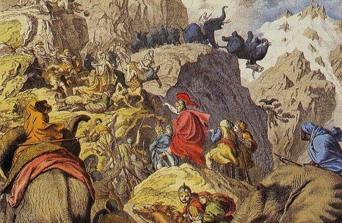 Tee, mida mööda Hannibal elevantidega Alpe ületas, on leitud, ammuse sõnniku järgi