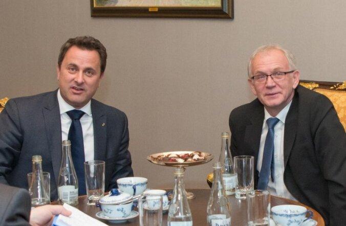 Нестор и премьер-министр Люксембурга обсудили вопросы безопасности и сотрудничество двух государств