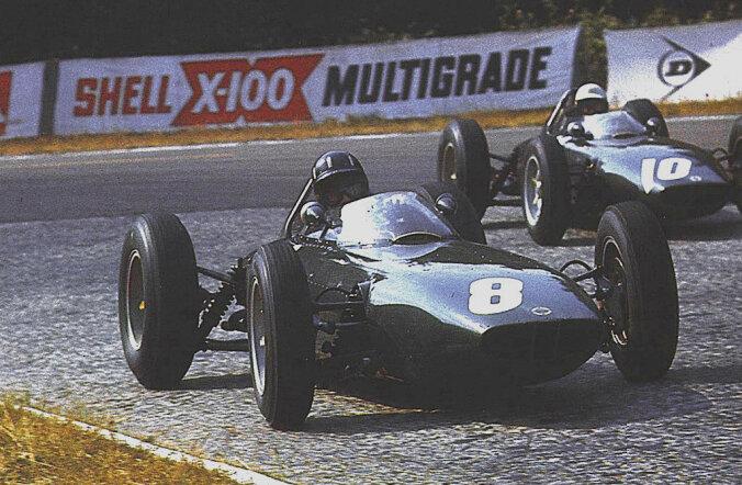 F1 aastal 1962: Pisike Damon Hill astus alles esimesi samme, kui ta isa maailmameistriks tuli