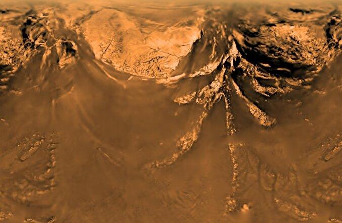 Sellist pinnast nägi maandur Huygens 2005. aastal Saturni kaaslasele Titanile laskudes.