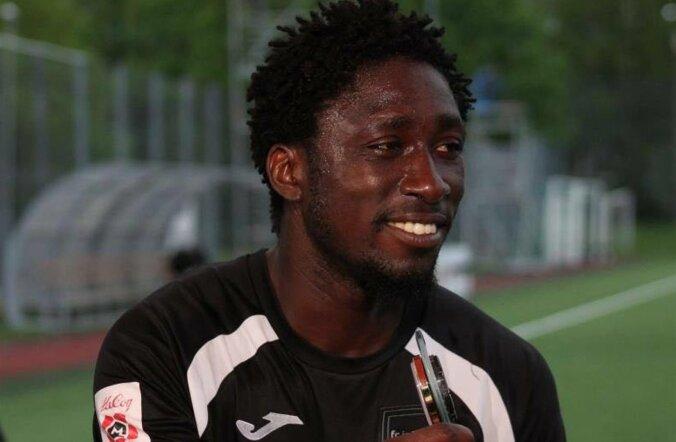 Темнокожий футболист: меня предупреждали, что Ласнамяэ — не лучшее место для жизни