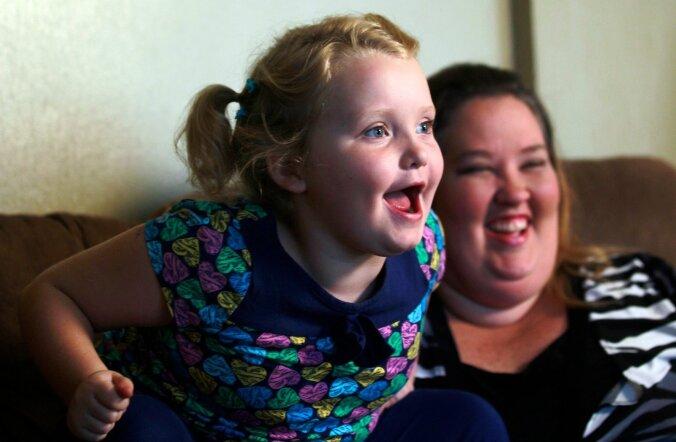 Honey Boo Boo koos ema Mama June´ga