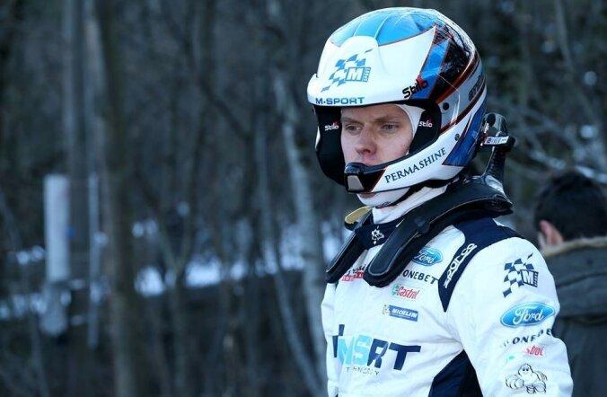 Ott Tänak jäi Monte Carlo ralli esimese päevaga igati rahule.
