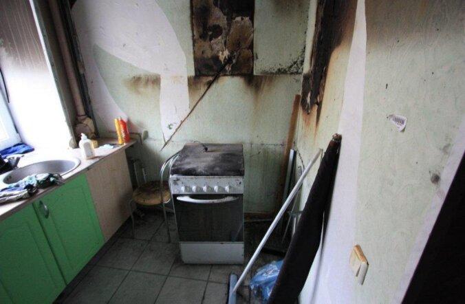 Спасательный департамент: забытая на включенной плите еда — одна их причин возникновения пожаров!