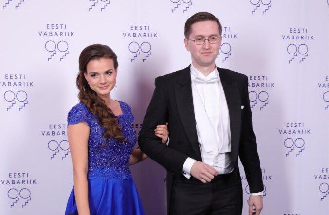 Riigikogu liige Jaak Madison ja Sandra Hiie