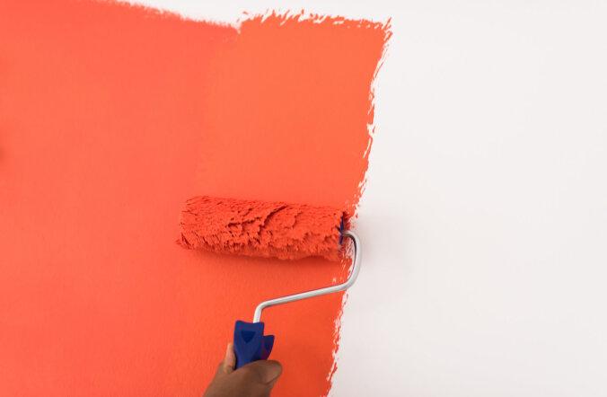 Sein värvi alla: 75% pinna ettevalmistustöö, 25% värvimine