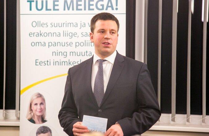 Urmas Sutrop: kui Jüri Ratas toetab Yana Toomi ja Aleksei Semjonovi tegevust, siis kaotab kogu valitsus usaldusväärsuse.