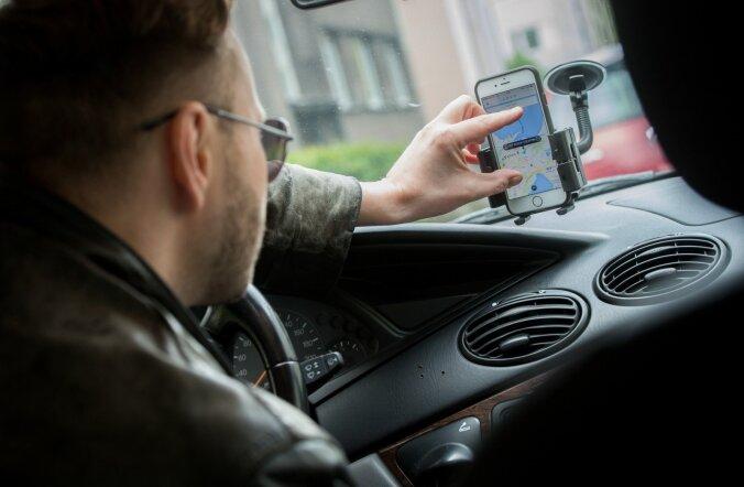 Oma tulu kohta on andmed edastanud pea 300 Uberi ja Taxify vedajat.