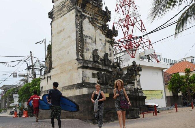 Bali saart tabanud maavärin tekitas turistide hulgas paanikat
