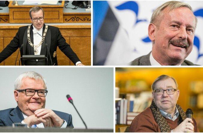 Ilves, Kallas, Savisaar, Laar