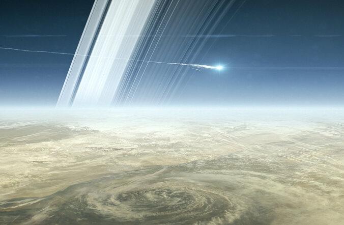 Lõpp on lähedal: Saturni orbiidil tiirlev sond Cassini määras oma avastustega endale surmanuhtluse