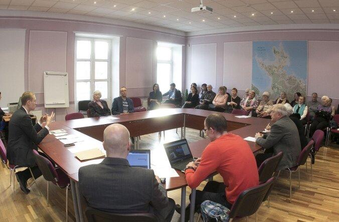 В Пыхья-Таллинне приступил к работе Совет пожилых людей