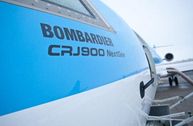 Estonian Airi CRJ900.