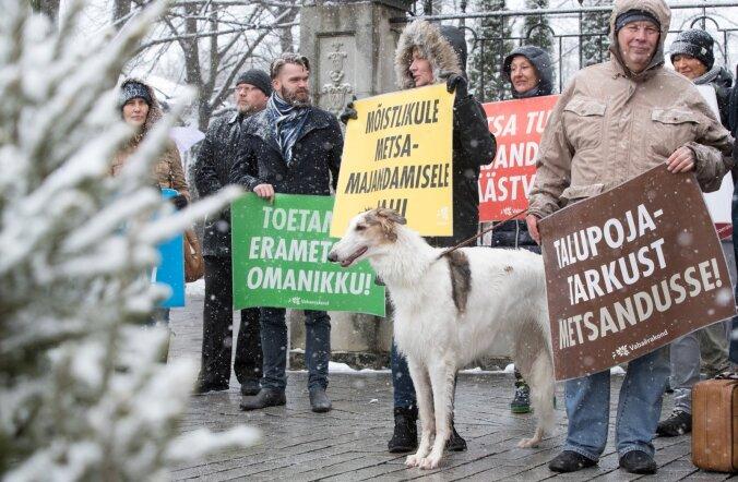 Meeleavaldus Eesti metsa kaitseks
