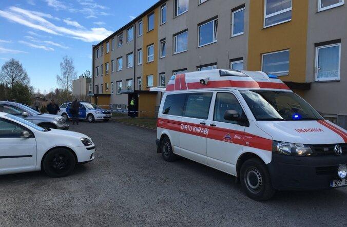 Tulistamine Viljandis