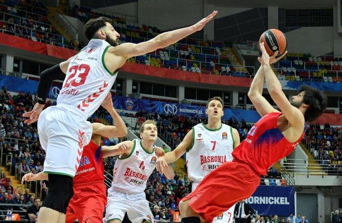 VIDEO: CSKA ja Fenerbahce astusid ühe jalaga poolfinaali