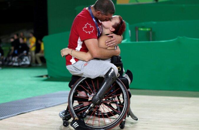 Sportlaste paar 2016. aasta Rio de Janeiro paraolümpiamängudel