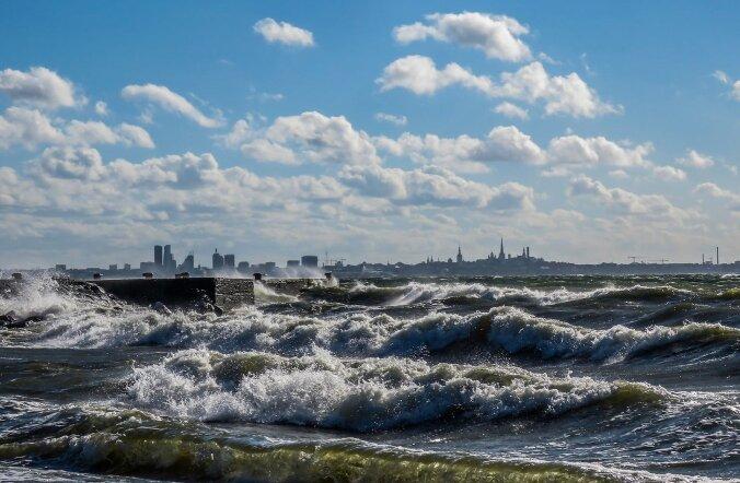 Ilmateenistus hoiatab: tuul tõuseb 23 meetrini sekundis