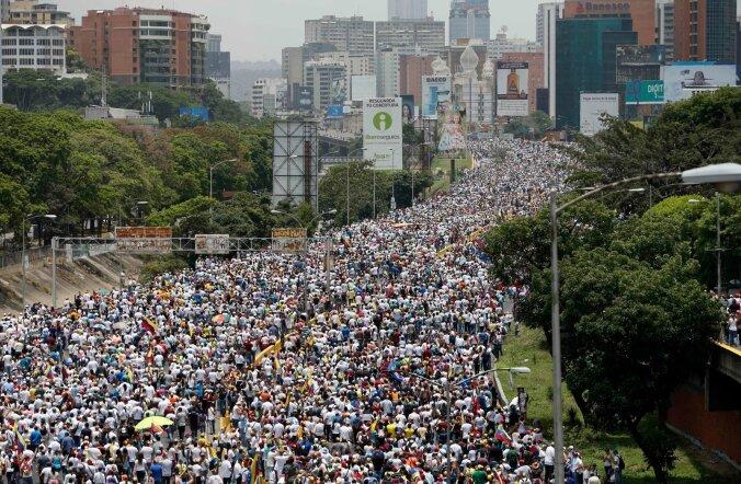 Opositsiooni massimeeleavaldus Caracases