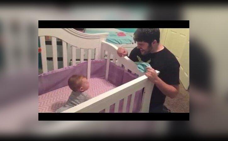 BEEBIVIDEO: Aga milleks sõnad? Vaata, see on eriti liigutav isa ja beebi suhtlusviis!