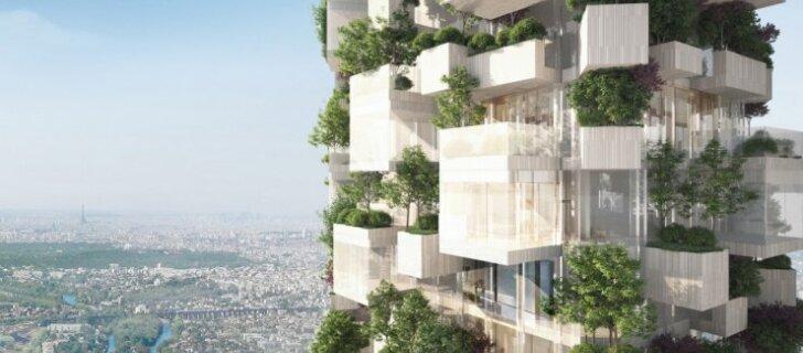 """В Париже вырастет """"вертикальный лес"""""""