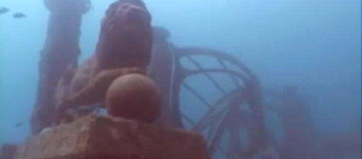 Подводный город, при создании которого используется человеческий прах