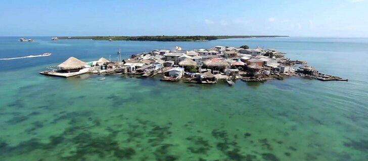 Maailma üks kõige tihedamini asustatud saar on väiksem, kui arvata oskaks