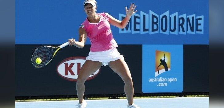 Kaia Kanepi mänguhoos, tennis