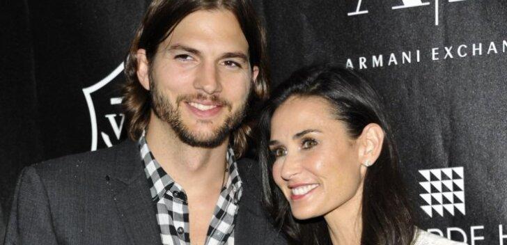 Ongi kõik läbi? Demi Moore'i ja Ashton Kutcheri maja ees seisis kolimisauto