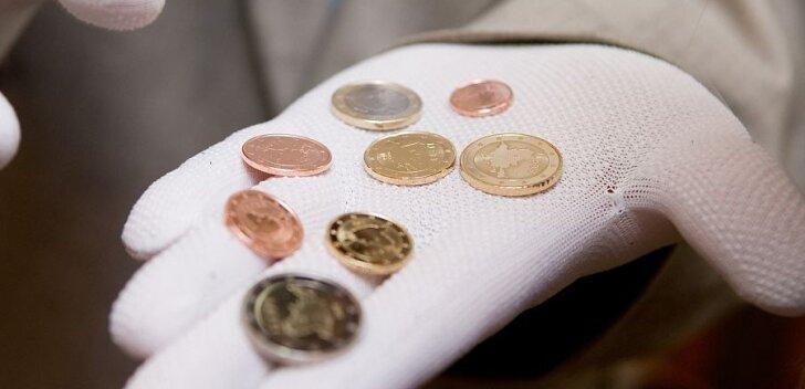 Eesti euromünte vermitakse Soomes 194 miljonit tükki