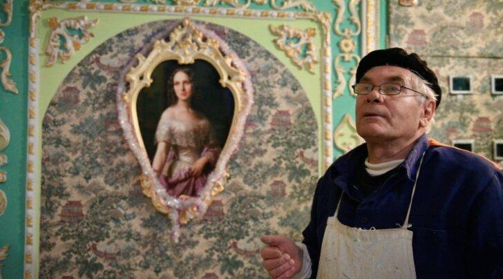 Kunstiteose autor on 64-aastane pensionär Vladimir Tšaika.