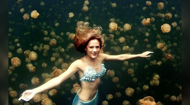 ФОТО: Женщина-русалка существует!
