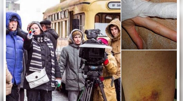 Украинский пианист: в Таллинне свита известного режиссера напала на украинскую активистку