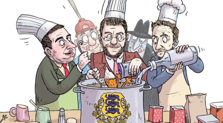Jüri Ratase dilemma: häälte kadumise kartuses võtaks EKRE kampa, aga ei saa