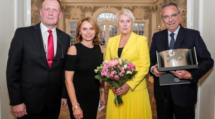 Anne Samlik pälvis Euroopa turismiauhinna