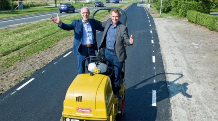 Дорога из туалетной бумаги: опыт Голландии