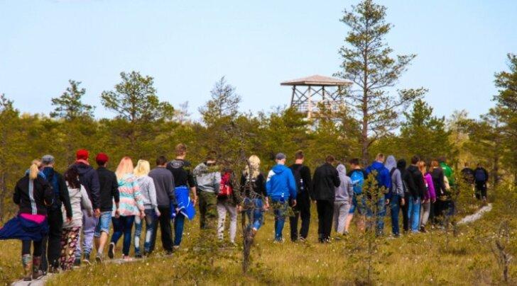 Narva ja Viljandi noored meistrid õppisid spordi abil üksteise kultuuri tundma
