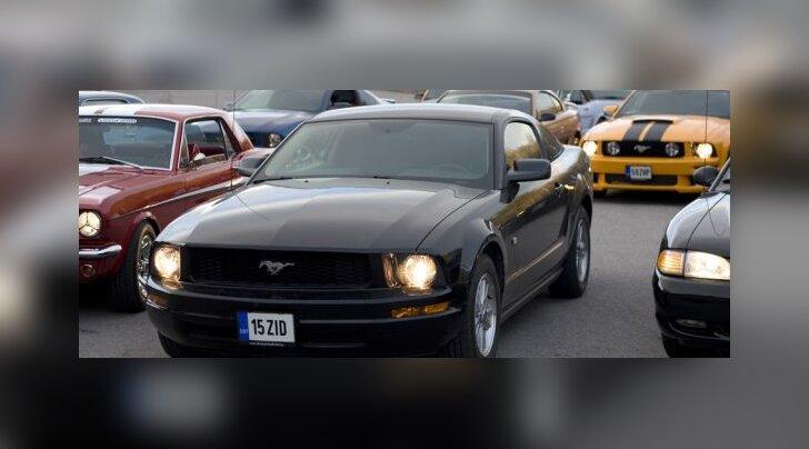Ford Mustang 45, foto Urmas Oja