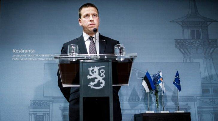 Peaminister Jüri Ratase esimene visiit Helsingisse