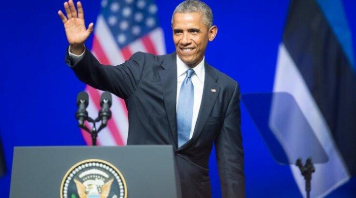 Barack Obama kõne Nordea kontserdisaalis