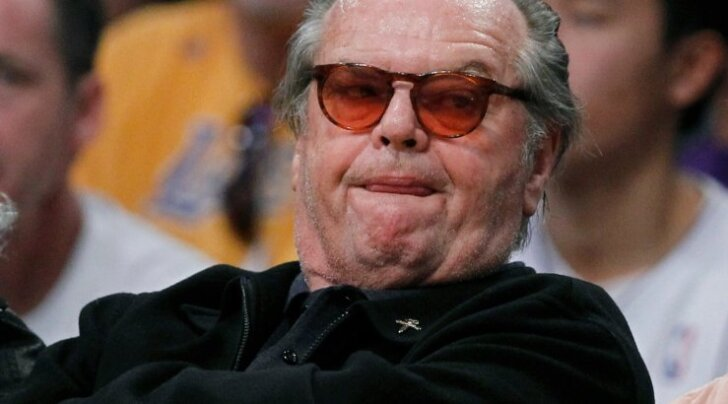Jack Nicholson puhkehetkel