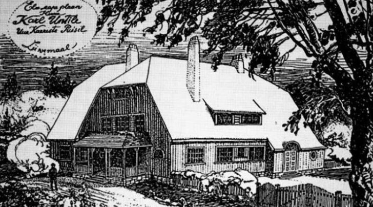 Esimene eesti talumees, kes lasi endale maja projekteerida: Puisi taluhäärber 100
