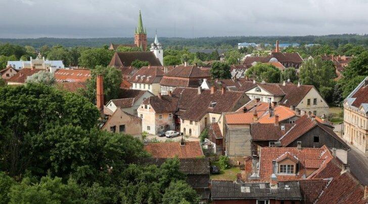 Кулдига — дыхание старины и шарм Латвии