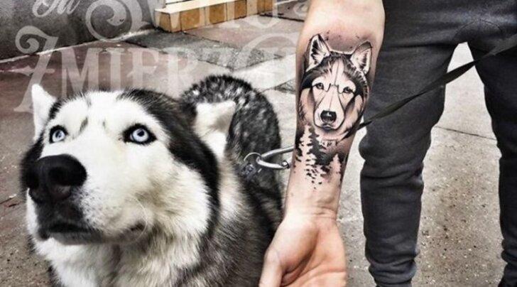 TOP 10: Ägedad koeratätoveeringu ideed loomasõpradele